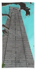 Campanile Beach Towel