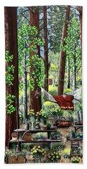 Camping Paradise Beach Towel