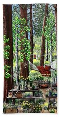 Camping Paradise Beach Sheet