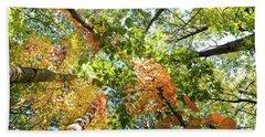 Canadian Foliage Beach Sheet
