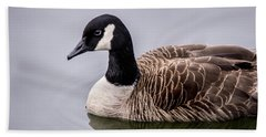 Canadian Goose At Rio Beach Towel