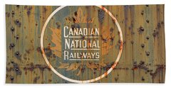 Canadian National Railways  Beach Towel