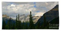 Canadian Rockies, Alta. Beach Sheet by Elfriede Fulda