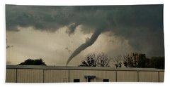 Canadian Tx Tornado Beach Towel