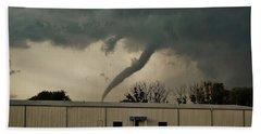 Canadian Tx Tornado Beach Sheet