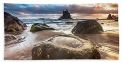 Canarian Island Sunrise Beach Towel
