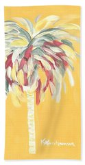 Canary Palm Tree Beach Sheet