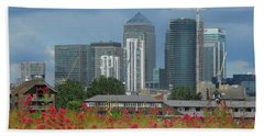 Canary Wharf 01 Beach Towel