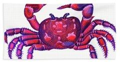 Cancer The Crab Beach Towel