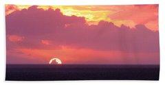 Sunrise Interrupted Beach Towel