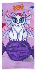 Candy Fairy Cat, Hard Candy Beach Towel