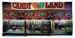 Candy Land Beach Towel by M G Whittingham