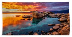 Candy Skies Beach Towel