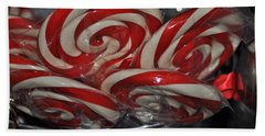 Candycane Lolli Beach Towel