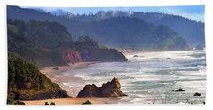 Cannon Beach Coast Oregon Beach Sheet