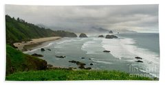 Beach Sheet featuring the photograph Cannon Coast by Suzette Kallen