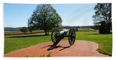 Canon At Antietam Beach Towel