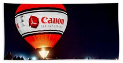 Canon - See Impossible - Hot Air Balloon Beach Sheet
