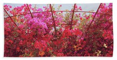 Canopy Of Color- Photography By Linda Woods Beach Towel