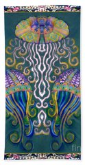 Canopy Under The Sea Beach Sheet by Wbk