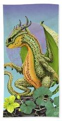Cantaloupe Dragon Beach Sheet