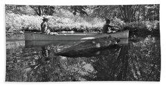 Canton Canoe Trip 2016 39 Beach Towel by George Ramos