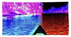 Canton Canoe Trip 2016 48 Beach Towel by George Ramos