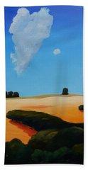 Canvas 2 Of Triptych Beach Towel