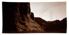 Canyon De Chelly 2c Navajo Beach Towel