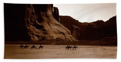 Canyon De Chelly 2c Navajo Beach Towel