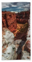 Canyon Lands Quartz Falls Overlook Beach Towel