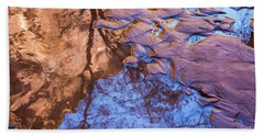 Canyon Reflections Beach Towel