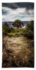 Canyon Sentinel Beach Towel