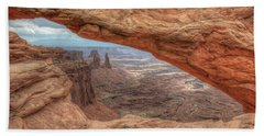 Canyonlands From Mesa Arch Beach Towel