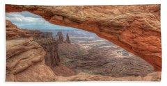 Canyonlands From Mesa Arch Beach Sheet