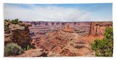 Canyonlands Near Moab Beach Sheet