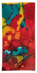 Canyons Of Color Beach Towel