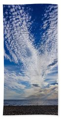 Beach Towel featuring the photograph Cape Clouds by Kendall McKernon