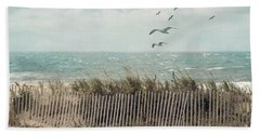 Cape Cod Beach Scene Beach Towel by Juli Scalzi
