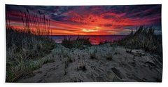 Cape Cod Sunrise Beach Towel