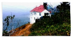 Cape Foulweather Beach Sheet by Methune Hively