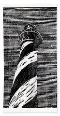 Cape Hatteras Lighthouse II Beach Sheet by Ryan Fox