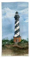 Cape Hatteras Lighthouse  Beach Towel