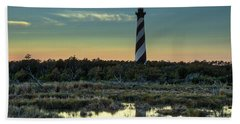 Cape Hatteras Sunset Beach Towel
