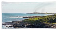 Beach Sheet featuring the photograph Cape Leeuwin Lighthouse by Ivy Ho