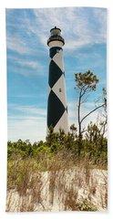 Cape Lookout Light No 2 Beach Towel