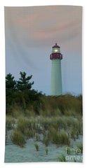 Cape May Headlight Beach Sheet by Nicki McManus