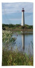 Cape May Lighthouse II Beach Towel