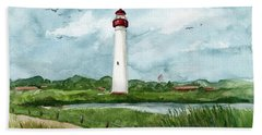 Cape May Lighthouse Beach Towel