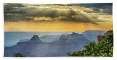 Cape Royal Crepuscular Rays Beach Towel